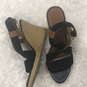 Banana republic espadrille wedges